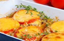 Μπιφτέκια με ντομάτα και τυριά (γκρατινέ) - Συνταγές Μαγειρικής - Chefoulis