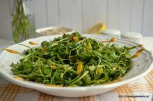 Hazelnut raisin rocket salad