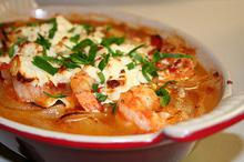 Γαρίδες σαγανάκι - Συνταγές Μαγειρικής - Chefoulis