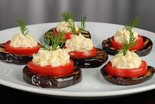 Μελιτζάνες ψητές με τυρί κρέμα - Συνταγές Μαγειρικής - Chefoulis