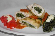 Ρολό κοτόπουλο με σπανάκι - Συνταγές Μαγειρικής - Chefoulis