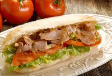 Σάντουιτς με γύρο κοτόπουλο - Συνταγές Μαγειρικής - Chefoulis
