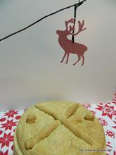 Ho ho ho chef Χριστόψωμο – Christ's bread(Greek Christmas Bread)