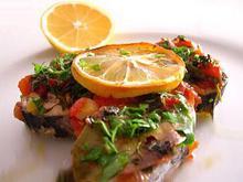 Σφυρίδα με πράσα, μάραθο και κόλιανδρο - Συνταγές Μαγειρικής - Chefoulis