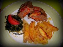 Ρολό με κιμά ή μπιφτέκι γεμιστό με λαχανικά
