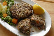 Μπιφτέκια με λαχανικά - Συνταγές Μαγειρικής - Chefoulis