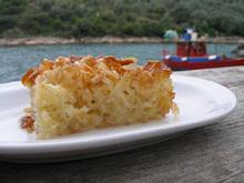 Συνταγή: Πίτα με γιαούρτι και ξύσμα περγαμόντου