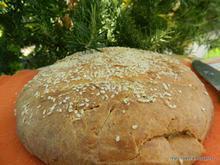 Ένα ξεχωριστό ψωμί με πατάτα, πεκορίνο και δεντρολίβανο- Special Potato, Pecorino & Rosemary bread