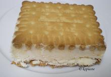 Χειροποίητο Παγωτό Σάντουϊτς Βανίλιας
