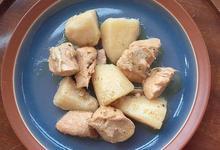 Χοιρινές μπουκιές λεμονάτες με πατάτες - Συνταγές Μαγειρικής - Chefoulis