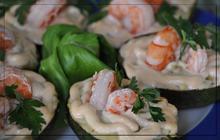 Αβοκάντο γεμιστό με γαρίδες - Συνταγές Μαγειρικής - Chefoulis