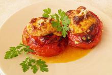Ντομάτες γεμιστές με μπεσαμέλ - Συνταγές Μαγειρικής - Chefoulis