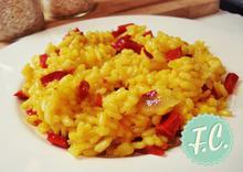 Ριζότο με Κόκκινη Πιπεριά  - Funky Cook