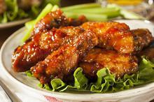 Φτερούγες κοτόπουλου με σος μπάρμπεκιου - Συνταγές Μαγειρικής - Chefoulis