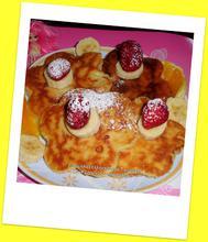 Pancakes ή ελληνικότερα Τηγανίτες από την μικρή μας Chef Ιωάννα...