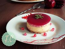 Cheesecake με Τυρί Καμαμπέρ και Ρόδι - Funky Cook