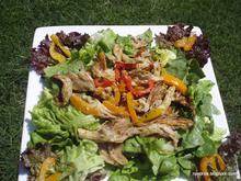 Σαλάτα με μανιτάρια πλευρώτους