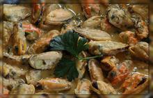 Μύδια αχνιστά - Συνταγές Μαγειρικής - Chefoulis