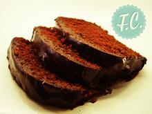 Κέικ Σοκολάτας με Επικάλυψη Σοκολάτας - Funky Cook