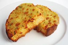 Σκορδόψωμο με παρμεζάνα - Συνταγές Μαγειρικής - Chefoulis