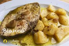 Μπιάνκο Παραδοσιακή Κερκυραϊκή συνταγή για ψάρι