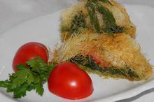 Ρολό καταϊφι με σπανάκι - Συνταγές Μαγειρικής - Chefoulis