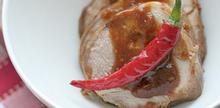 Συνταγή: Χοιρινό φιλέτο με σάλτσα σόγιας σκόρδο και ζωμό λαχανικών