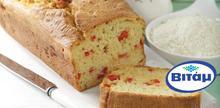 Συνταγή: Αλμυρό κέικ με μυζήθρα, πιπεριά Φλωρίνης