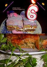 Λαζάνια με σπανάκι και τρία τυριά και τα γενέθλια της Ιωάννας μας