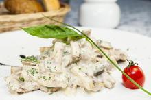 Μπουκίτσες κοτόπουλο με μανιτάρια αλα κρέμ - Συνταγές Μαγειρικής - Chefoulis