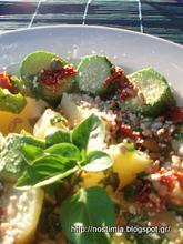 Σαλάτα βραστών λαχανικών, η μεταμόρφωση! – A new version of boiled veggies salad