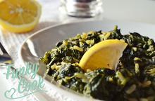 Σπανακόρυζο Λεμονάτο - Funky Cook