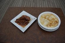 Συνταγή: Κοτόπουλο με σταφύλια, πατάτες, κρέμα γάλακτος