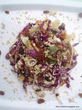 Πλούσια σαλάτα λάχανο με άρωμα φασκόμηλου – Rich cabbage sage scented salad