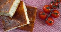 Focaccia με δενδρολίβανο και λεμονοπίπερο - Focaccia with rosemary and lemon pepper - Lovecooking.gr