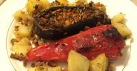 Γεμιστά με φακόρυζο και λαχανικά! - Lovecooking.gr