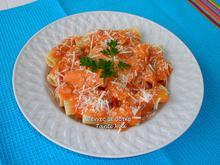 Πέννες με σάλτσα ούζου ή βότκας