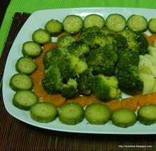 Σαλάτα βραστών λαχανικών-Boiled veggies salad