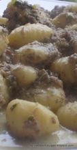 Gnocchi in portobello walnut sauce