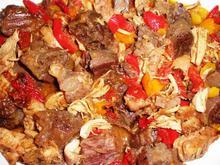 Τηγανιά σπέσιαλ, με 3 είδη κρέατος... συνδυασμός γεύσεων!
