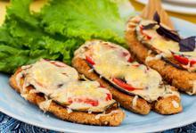 Κοτόπουλο πανέ με μελιτζάνα - Συνταγές Μαγειρικής - Chefoulis