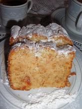 Λευκό βελούδινο κέικ ή κέικ των αγγέλων