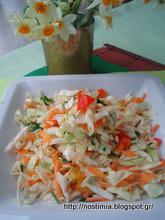 Πολίτικη σαλάτα – Politiki salad (Cabbage salad from Constantinople)