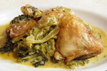 Κοτόπουλο φρικασέ με αντίδια - Συνταγές Μαγειρικής - Chefoulis