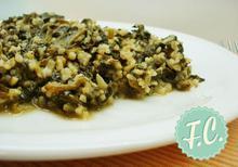 Σπανάκι με Πλιγούρι Λεμονάτο  - Funky Cook