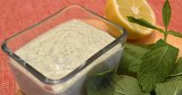 Ντιπ τόφου με δυόσμο - Mint tofu dip - Lovecooking.gr