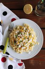 Τριβελάκι με πιπεριές, καλαμπόκι και φέτα και ένα νέο! - The one with all the tastes
