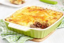 Μοσχάρι με πουρέ στον φούρνο - Συνταγές Μαγειρικής - Chefoulis