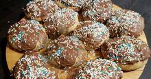 Αφράτα σπιτικά Ντόναντς με σοκολάτα !!!