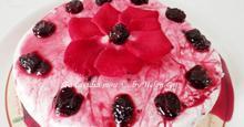 Γλυκό Ψυγείου με Μπισκότα και Κεράσια - Chilled Jelly Cream with Cherries